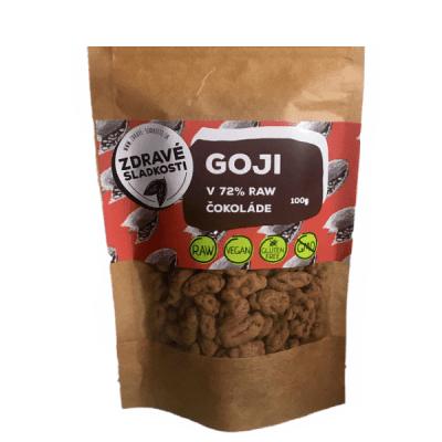 goji v raw čokoláde 72 %