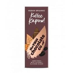 raw čokoláda horká 66% koffee kapow